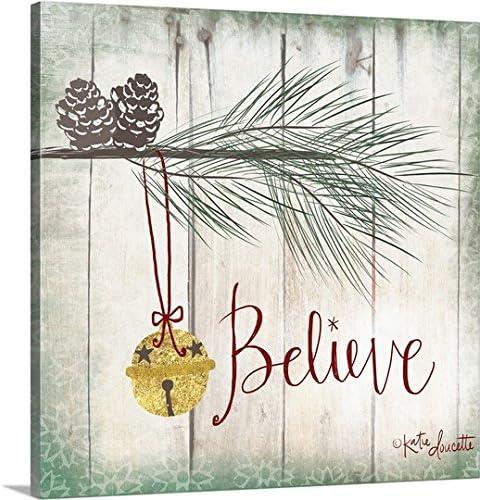 CANVAS ON DEMAND 2399888_24_30x30_None CanvasOnDemand Katie Doucette Premium Thick-Wrap Canvas Entitled Bells Wall Art Print