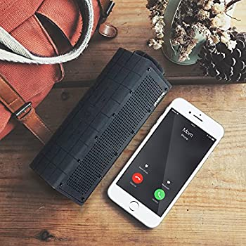 Photive Hydra Portable Bluetooth Speaker With Enhanced Bass. Waterproof Rugged Portable Speaker For Home, Travel & Outdoors 1