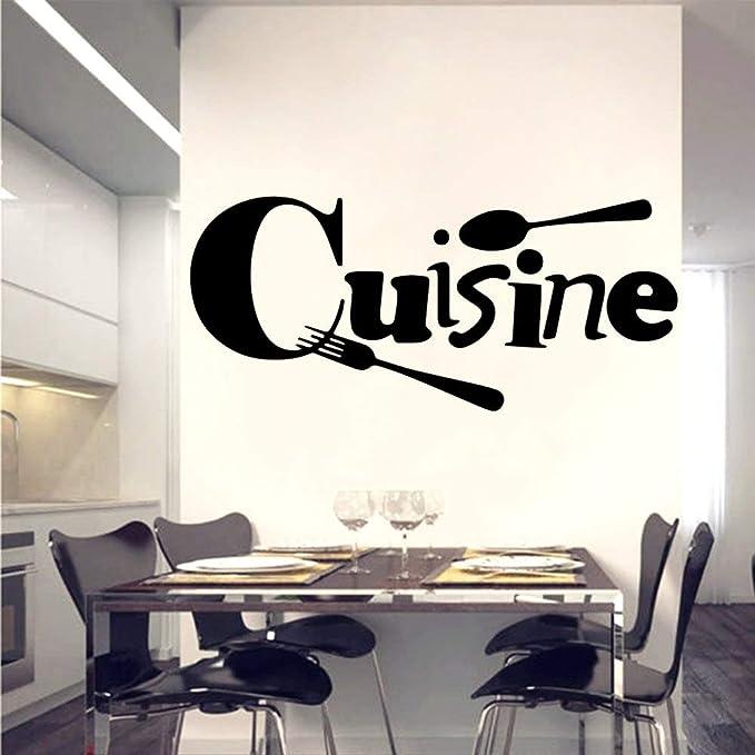 HNXDP Beauty Cuisine Pvc Pegatinas de pared Decoración de ...