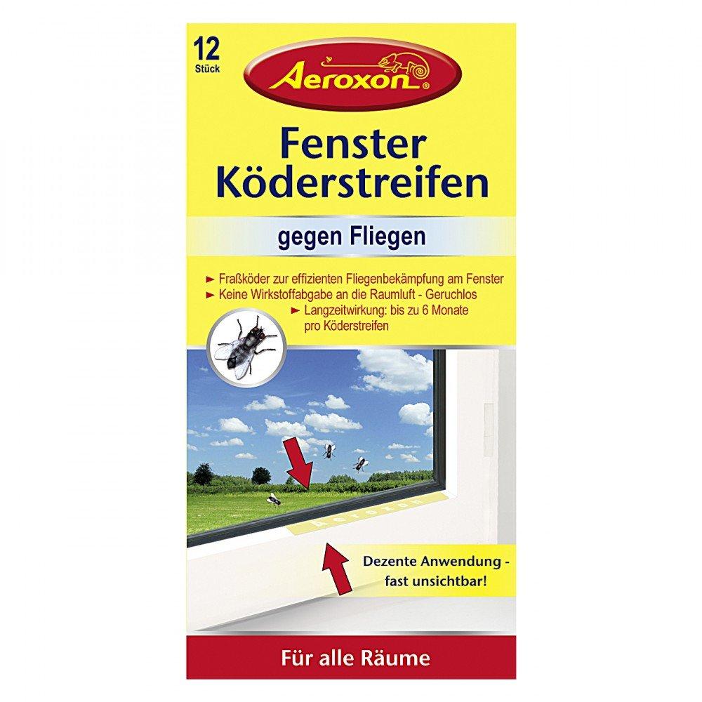 Aeroxon Fenster Köderstreifen, 12er: Amazon.de: Garten