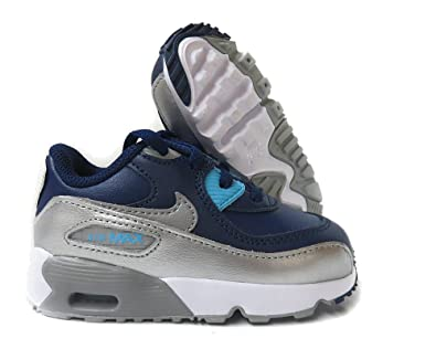6b8bb9b8e401a Amazon.com | Nike NIKE AIR MAX 90 LTR (TD) girls fashion-sneakers ...