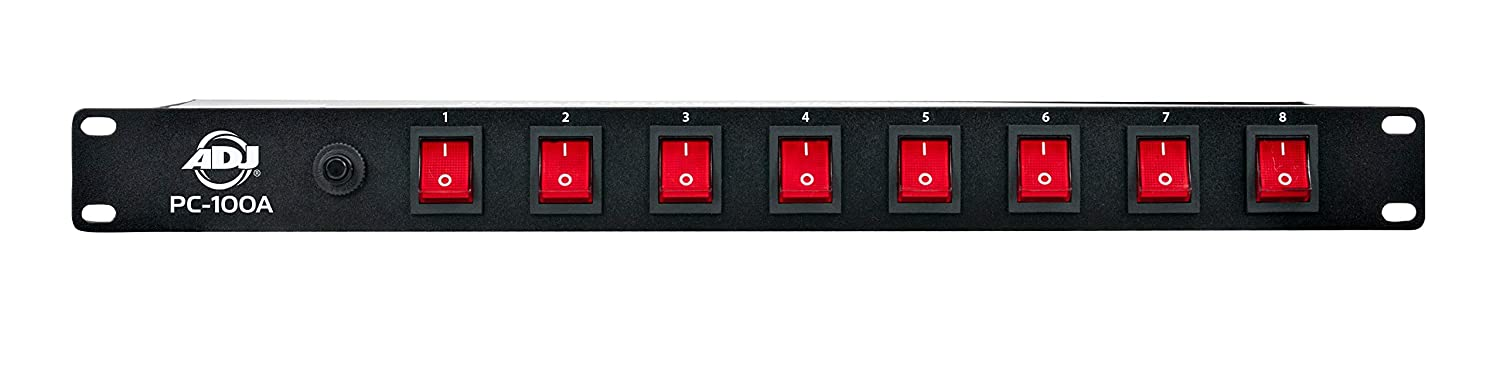 ADJ Products PC-100A 8-Channel Rack Mount Power Center