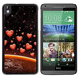 Stuss Case / Funda Carcasa protectora - Cosmic Cupids Love - HTC DESIRE 816