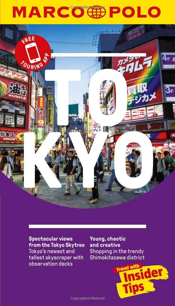 Tokyo Marco Polo Pocket Travel Guide  Marco Polo Guide