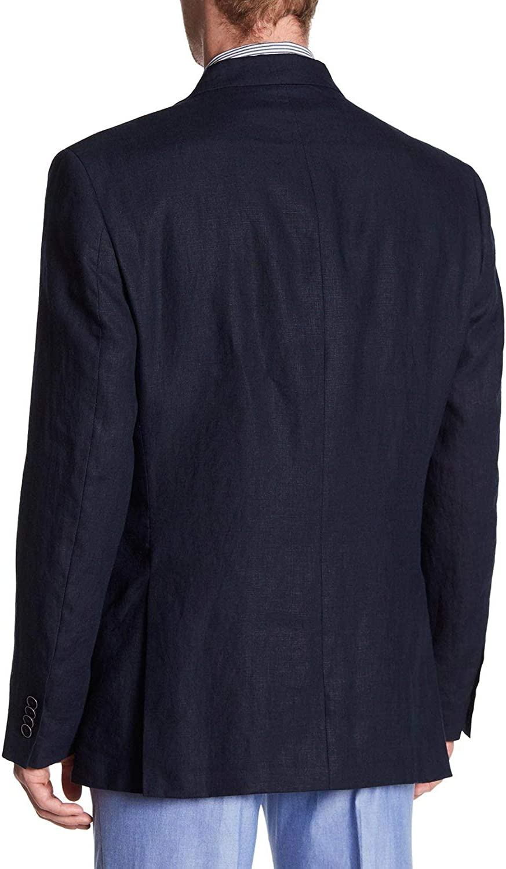 Tommy Hilfiger Mens Gibbs Linen Sport Coat