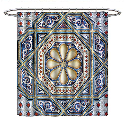 Anshesix Moroccan Decor Collectionfunny Shower curtainAn Image of