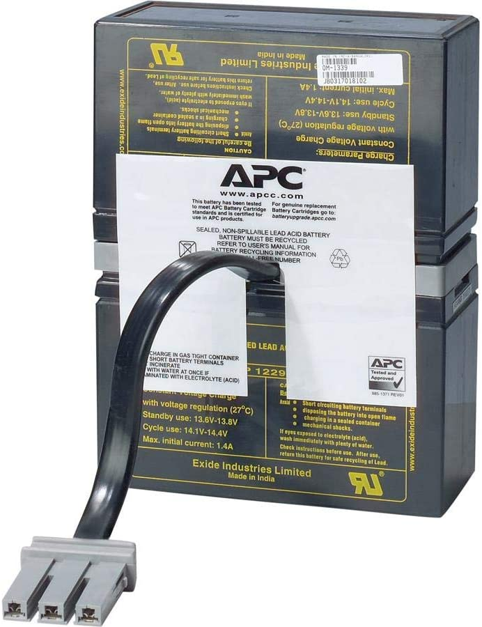 APC Back UPS XS 1000VA Compatible Battery Pack Replacement UPSBatteryCenter BX1000