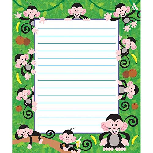 TREND enterprises, Inc. Monkey Mischief Note Pad-Rectangle, 50 sheets