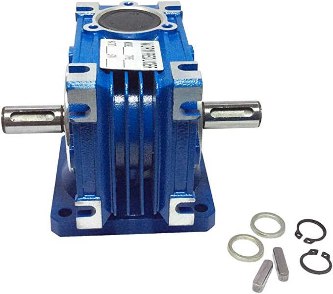 14mm Output Shaft to suit a SIZE30 Right Angle Worm Gearbox Type RV Motor Ready