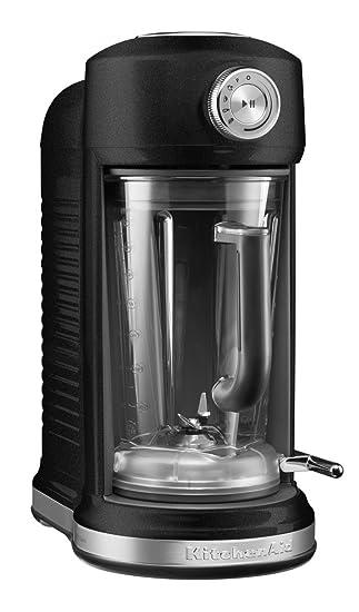 KitchenAid 5KSB5080 Batidora de vaso 1.8L 1500W Negro - Licuadora (Batidora de vaso, 1,8 L, Negro, 700 RPM, 20000 RPM, Acero inoxidable): Amazon.es: Hogar