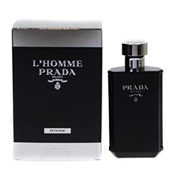 co ukBeauty Prada L'homme Parfum Intense 50mlAmazon Eau De BWCoedrx