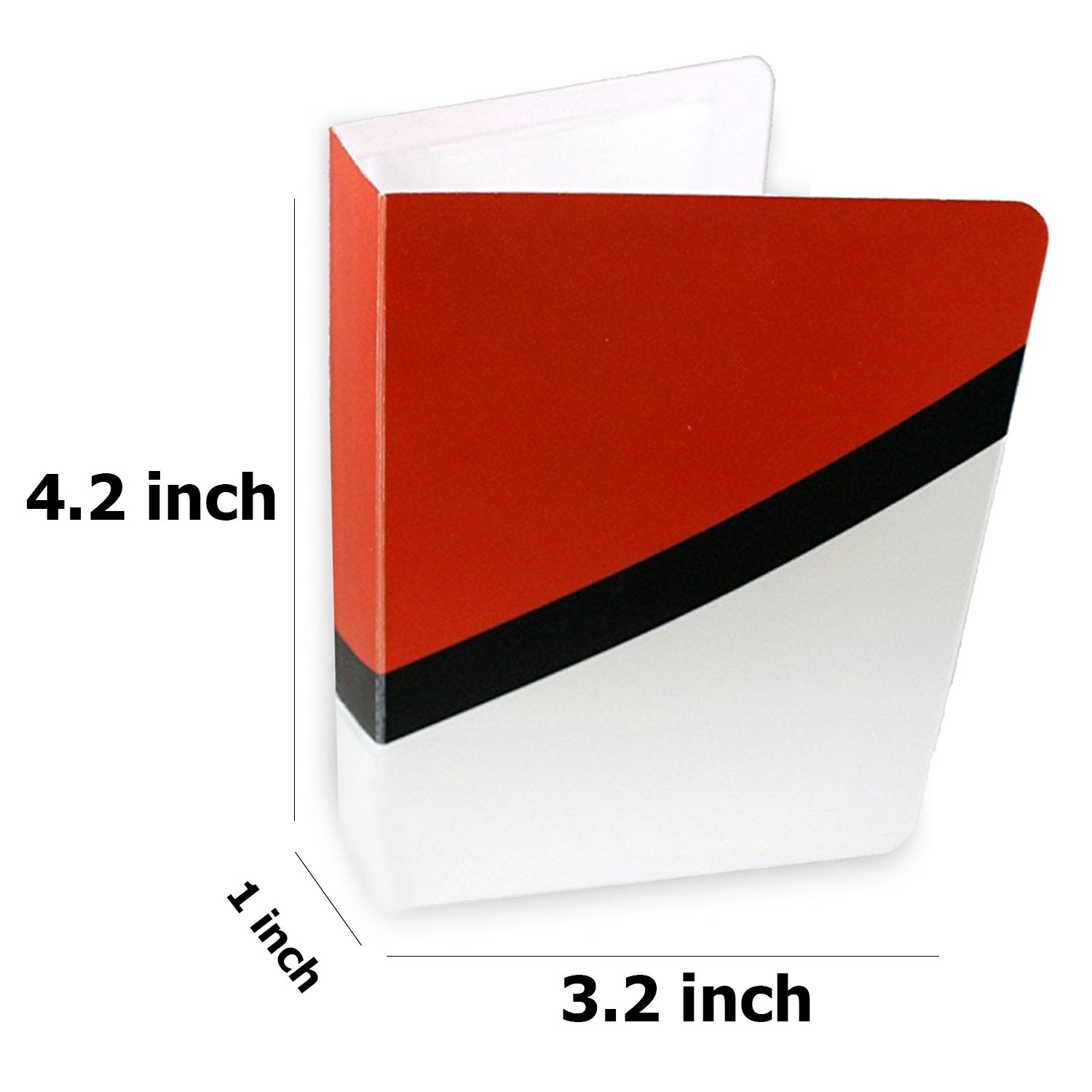 Durable Perfect for Kids SG/_B07CMVDHD8/_US Sleeves Included Totem World 4 Mini Album for Pokemon Cards with 1 Pokeball Inspired Mini Binder Featuring Favorite Pokemon Characters Protect Your Deck in Style