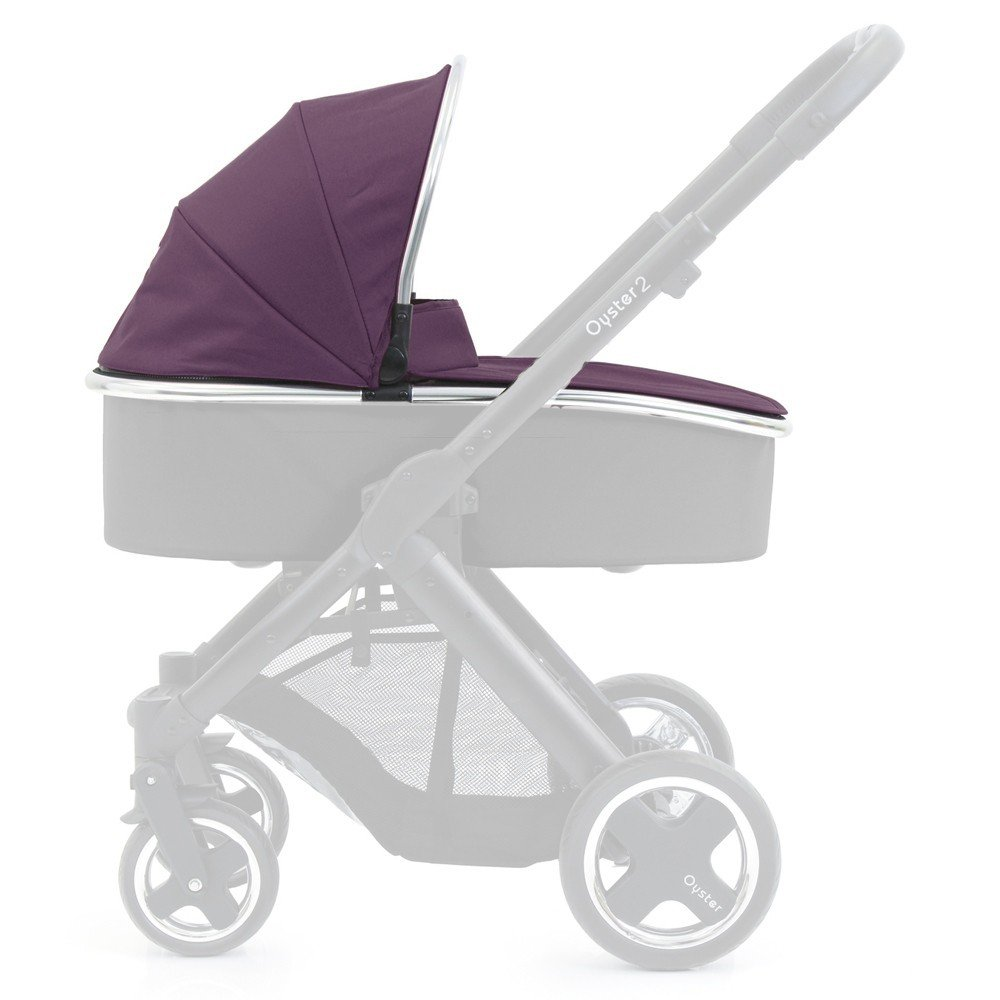 Oyster MaxGem Carrycot (Damson, Pack of 2) O2CCCPDA