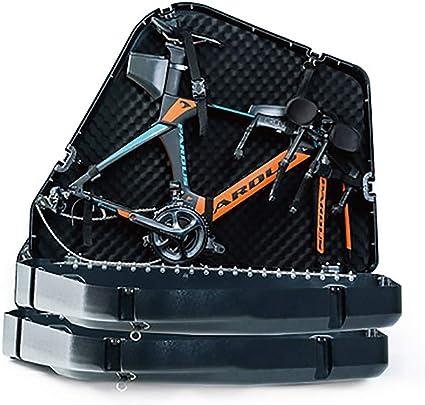 AUSD Foldon Case Maleta Porta Bicicletas Modelos adecuados: Bicicleta de Carretera, Bicicleta de montaña (Incluidas 29 Pulgadas) y Tres Coches de Hierro (TT): Amazon.es: Deportes y aire libre
