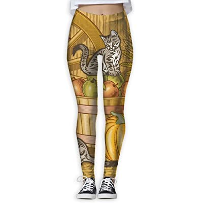 GHBDNK American Fram Stretch Yoga Pants for Women Running Tights Women Leggings