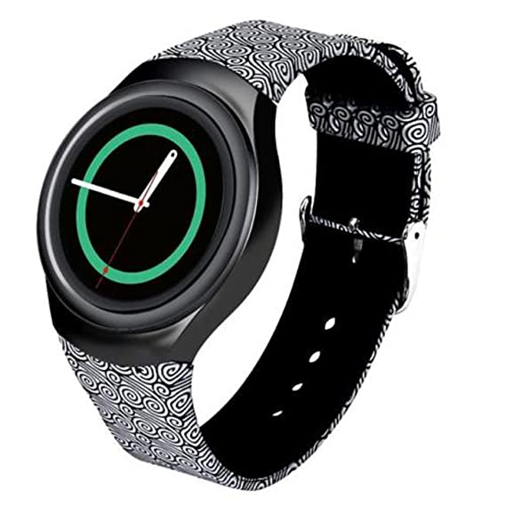 For Samsung Gear S2 Watch Band - Soft Silicone Sport Replacement Band for Samsung Gear S2 Smart Watch SM-R720 SM-R730 Version Cloud