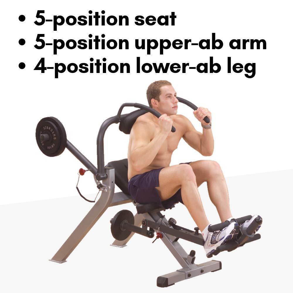 GAB300 Body-Solid Semi-Recumbent Ab Bench