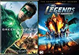 DCs Legends of Tomorrow: Season 1 + Green Lantern DVD Green Super Hero Movie Pack DC Comics