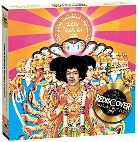 Imagination Games Rediscover Jigsaw Puzzles Are You Experienced Rejects from Studios 6134 Accessory Toys /& Games Jimi Hendrix