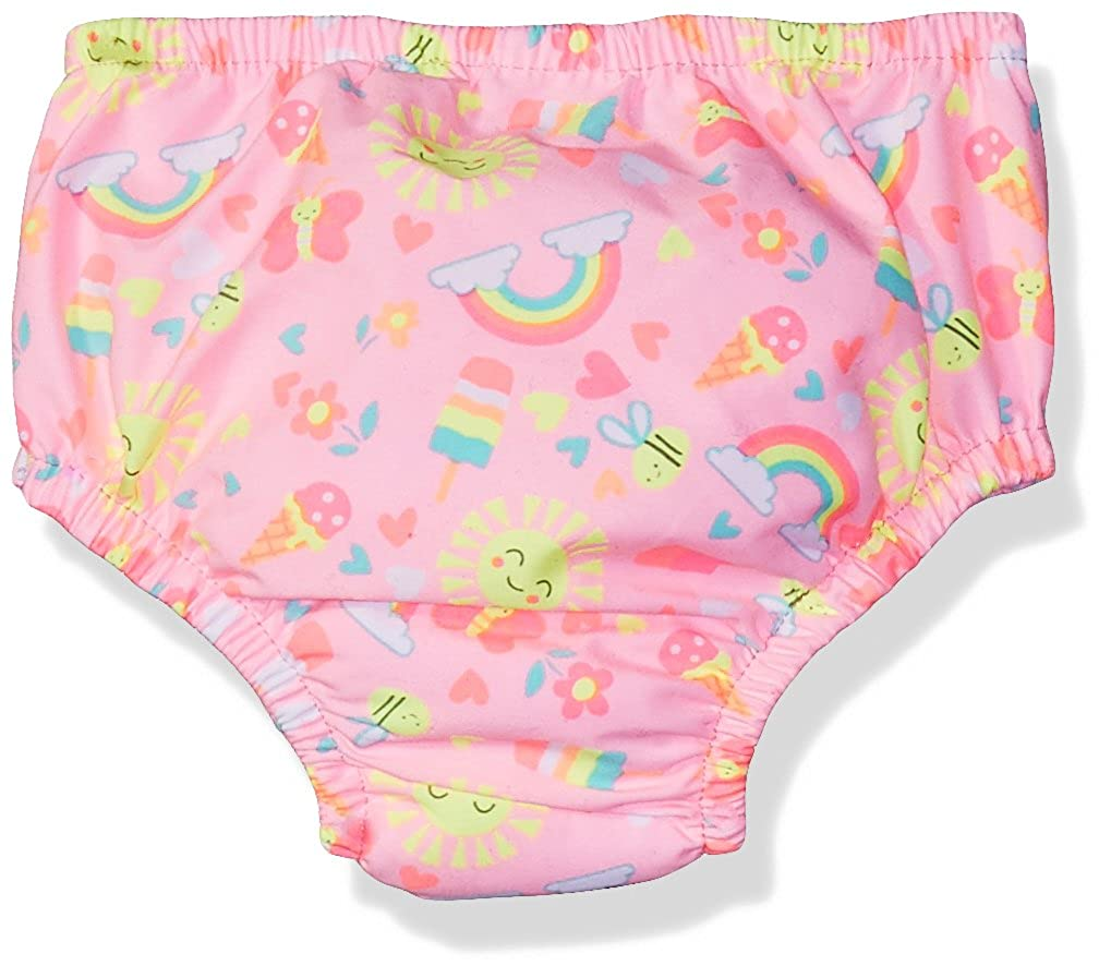 with Side Snaps Swim Time Girls Reusable Swim Diaper UPF 50