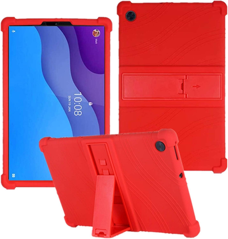 HminSen for Lenovo Tab M10 HD 2nd Gen Case 10.1 Inch 2020 (TB-X306F TB-X306X) , Kids Friendly Soft Silicone Stand Cover for Lenovo Tab M10 HD 10.1