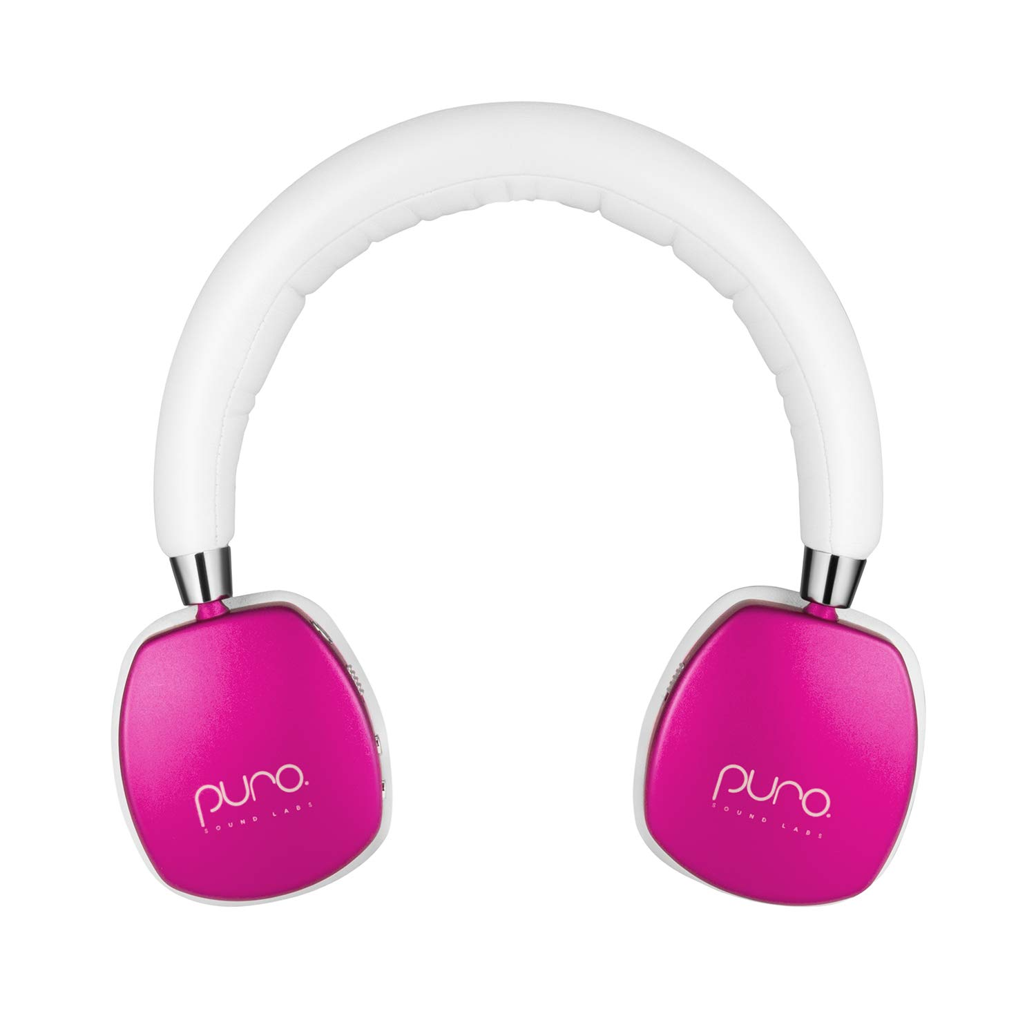 Puro Sound Labs PuroQuiet Kids Volume-Limiting Noise-Cancelling On-Ear Wireless Headphones Pink