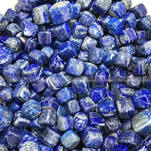Dalas 100g Blue Cube Lapis Lazuli Gemstone Rock Rough Stone Crystal Mineral Healing Quartz Crystals Natural ()