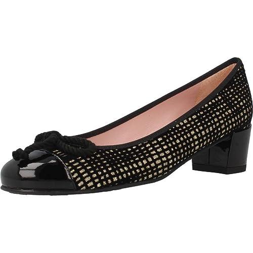 544345b229e Zapatos Bailarina para Mujer, Color Negro, Marca PRETTY BALLERINAS, Modelo Zapatos  Bailarina para Mujer PRETTY BALLERINAS Marilyn Negro: Amazon.es: Zapatos ...
