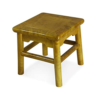 Solid Wood Small Stool Bench Stool Childrens Wooden Homestool Chinese Wooden Bench Short Wooden Stool Furniture