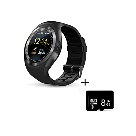 Amazon.com: Bluetooth Smart Watch Men Women Smart Watch ...