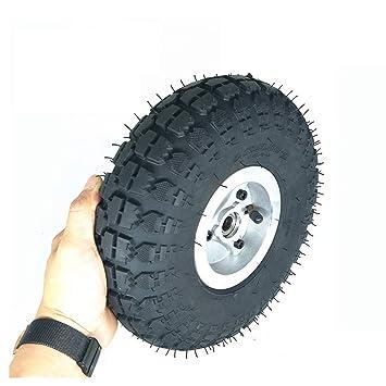 XULONG Neumático de Scooter eléctrico, 10 Pulgadas 4.10-3.50 ...