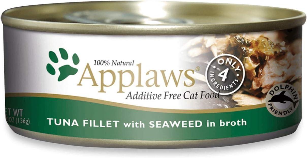 Applaws Cat Tin 2.4oz Tuna with Seaweed - 24 Pack