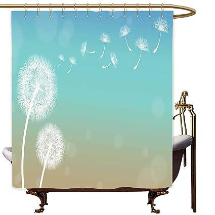 Amazon Com Marymunger Custom Shower Curtain Dandelion Blowball