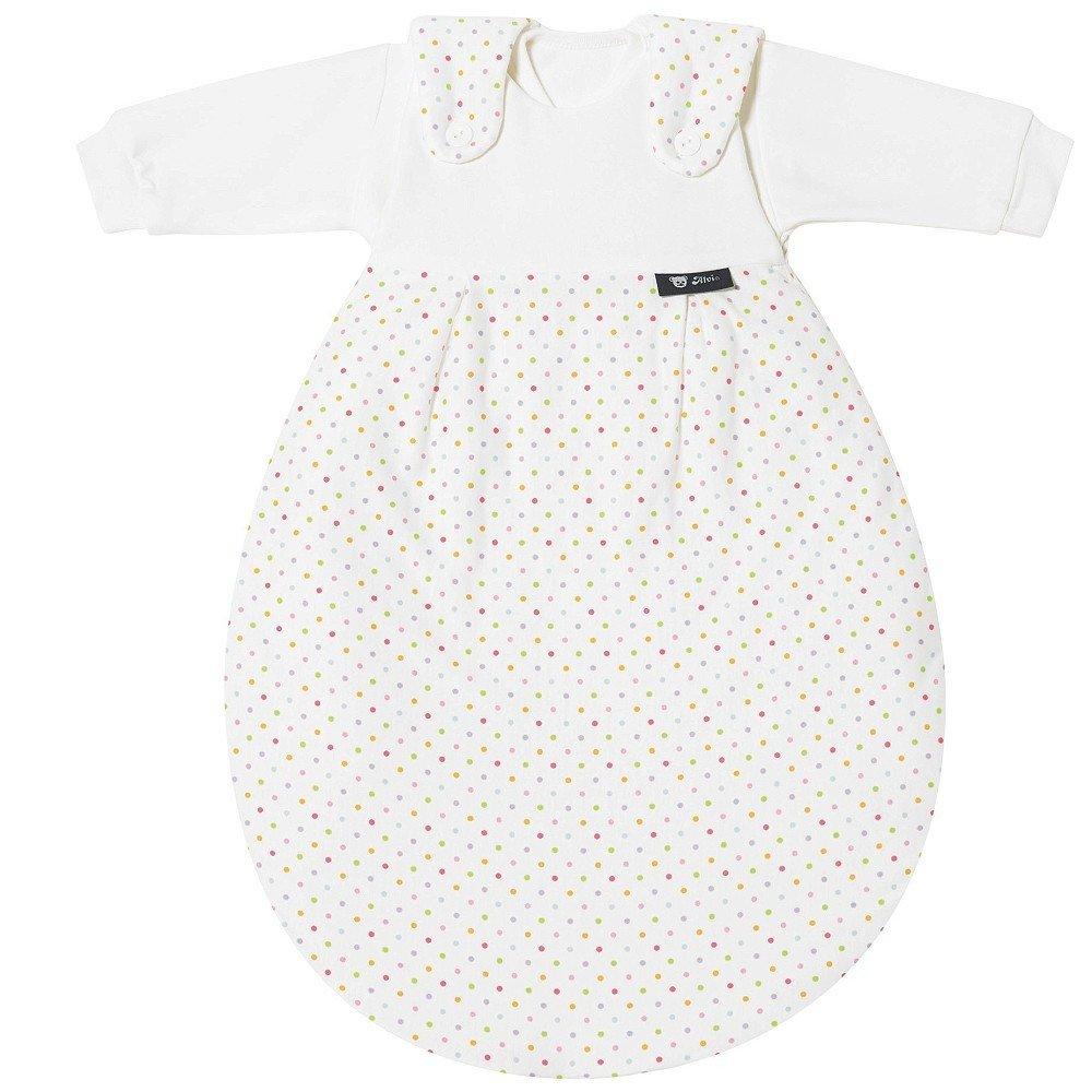 Alvi Baby Mäxchen Schlafsack 3-tlg. Das Original Gr. 86 92 Bunte Tupfen