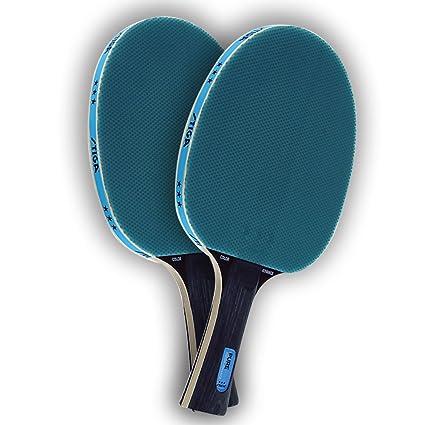 Amazon.com   STIGA Set of 2 Blue Pure Color Advance Ping Pong ... bf049d5eb