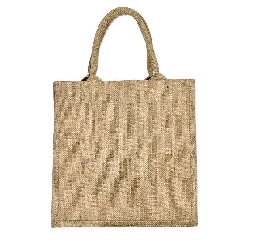 Amazon.com: Juego de 12 bolsas de arpillera ecológica en ...