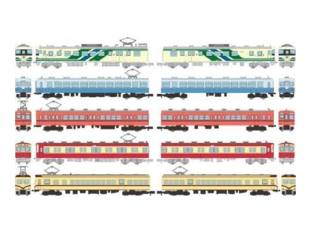 Tommy Tech edicioen de la coleccioen de trenes 18a (10 piezas 1BOX)