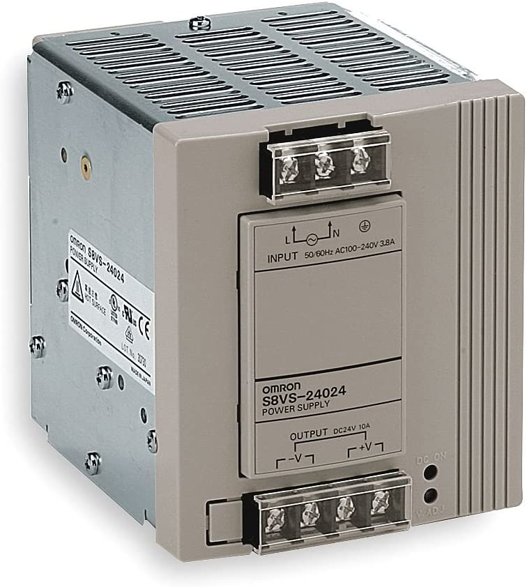 Amazon.com: OMRON S8VS-24024 Switch Mode Power Supply (240W ...