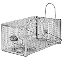 MTL Humane Live Animal Cage Trap For Rodents, Mouse, Jerboa,Hamster,Chinchilla,Stray Cat, Chipmunk, Squirrel