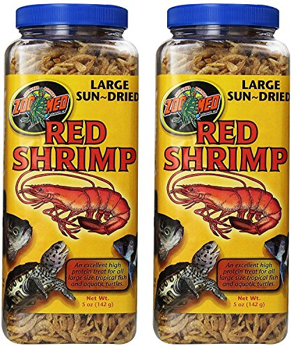 Zoo Med Sun Dried Large Red Shrimp (10oz)