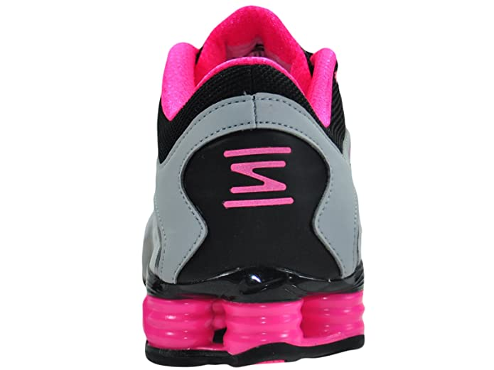 2a05dbc52f14 Nike Shox Vaeda Wolf Grey Vivid Pink Black Synthetic Running Shoes 11 M Us   Amazon.co.uk  Shoes   Bags