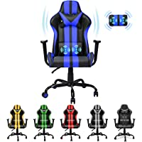 Ferghana Racing Style PC Computer Chair,Video Gaming Chair,Ergonomic Office Chair for Christmas Birthday Gifts for…