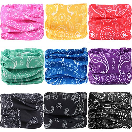 - WONBURY Headwear Headband Bandana Neck Gaiter Headwrap Balaclava Helmet Liner Mask Versatile Sports Casual Multifunctional Seamless for Camping Running Cycling Fishing Sport Hunting