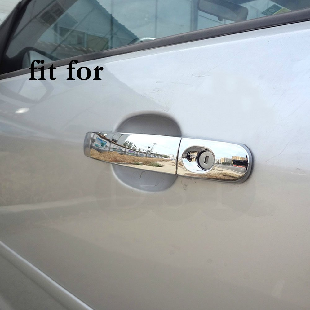 SEGADEN Chrome Door Handle Cover Trims fit for Ford Ranger T6 2012 XG2704A