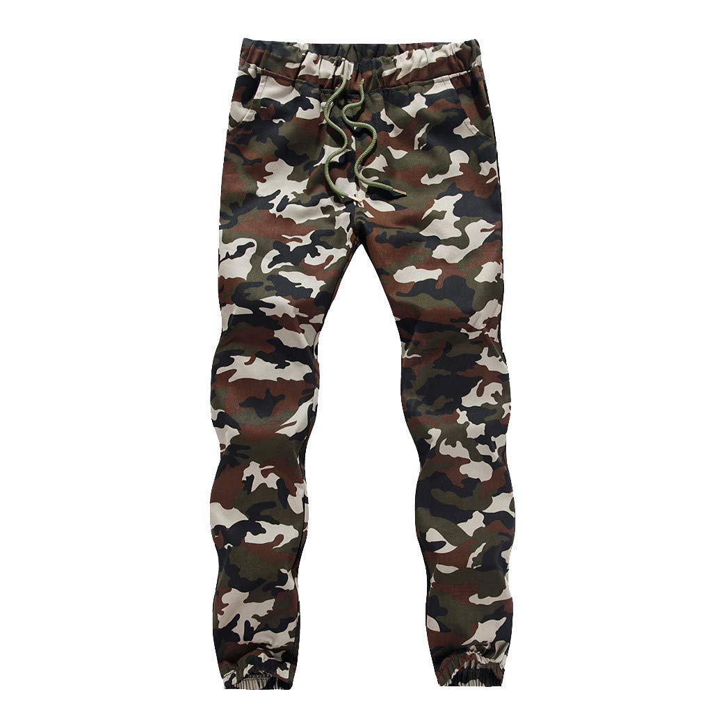 Pants for Men,Alalaso Men's Joggers Pants for Men Fashion Twill Chino Pants Regular Fit Sweatpants Casual Trousers
