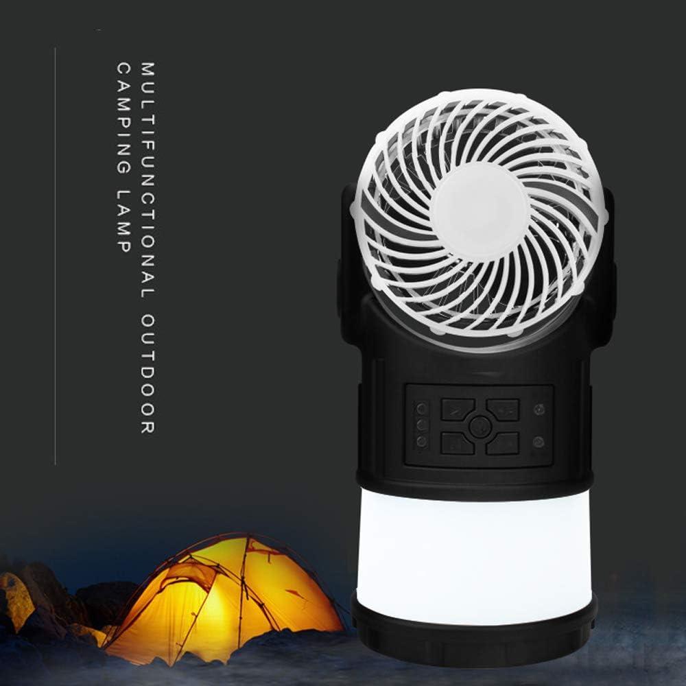 FZYUAN Luz De Camping Ventilador Multifuncional Linterna Exterior Luz De Emergencia Radio Repelente De Mosquitos LED Impermeable Carpa Luz De Camping: Amazon.es: Deportes y aire libre