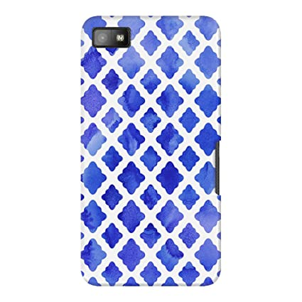 DailyObjects Cobalt Blue Watercolour Diamonds Mobile: Amazon in