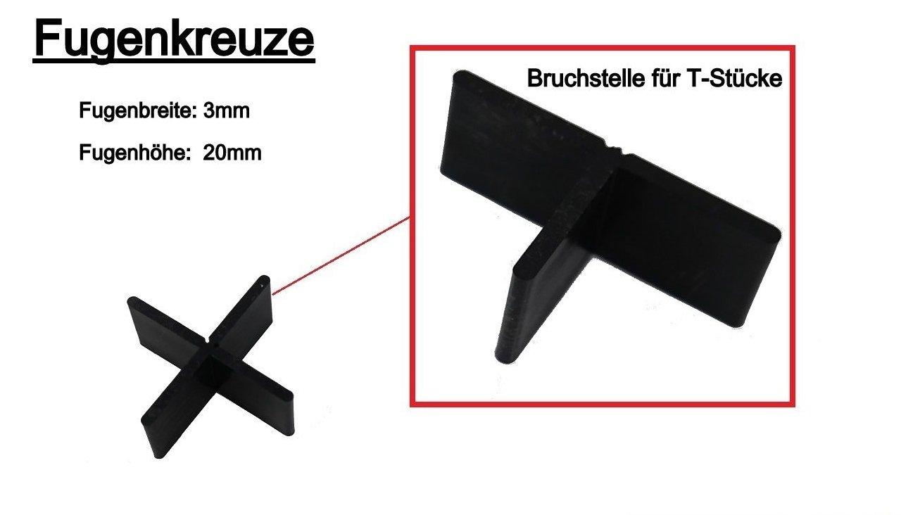 Fugenkreuze Fliesenkreuze Fur Terrassenplatten Bodenplatten 300
