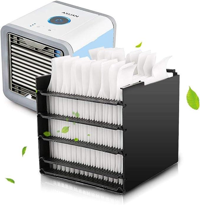filtre de rechange Personal Space Cooler Filtre de rechange Watermelon Air Mini Cooler pour climatisation Filtre absorbant lhumidit/é 12,8 x 10,5 cm 10 filtres R/ésistant aux moisissures