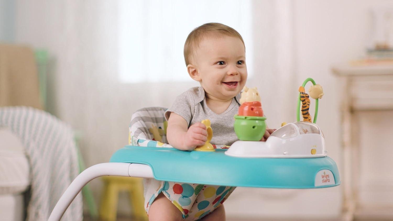 WINNIE THE POOH Trotteur Bleu et Gris - Disney Baby: Amazon.es: Bebé